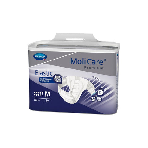 MoliCare Premium Elastic 9D - Medium (Pack of 26)