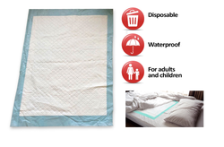 SuperCare Disposable Bed Liners ( Approx. 58cm x 91cm) - Pack of 10 pcs