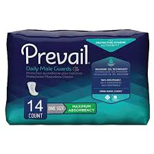Prevail Male Guard Pads PV-811 - Pack of 14 Pads