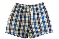 Woxers - Waterproof Adult Boxer Shorts ( Blue tartan)