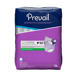 Prevail WOMEN'S PURSEREADY® UNDERWEAR Size Large – (PRU-513) pack of 10pcs