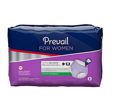 Prevail® Underwear for Women S/M – (PWC-512) pack of 10pcs