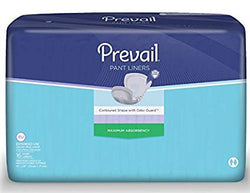 Prevail® Pant Liners PL-115  / Maximum Absorbency (Overnight).