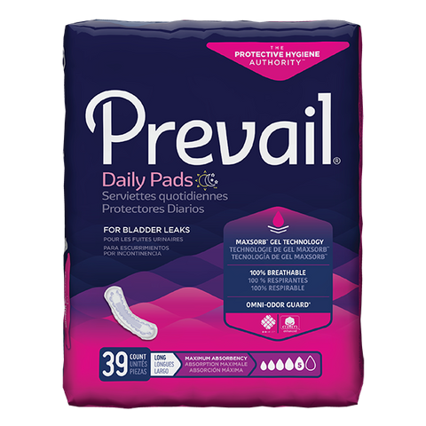 Prevail Women's Incontinence Pads PV-915/1 (39 Pads)