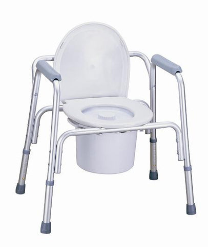 Deluxe 3-in-1 Aluminium­ Frame Multifunction Commode code (68200)