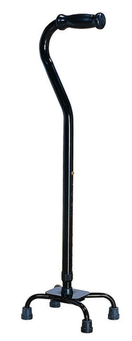 Bariatric Quad Cane ( Black) - Small Base