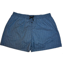 Woxers - Waterproof Adult Boxer Shorts ( Blue Diamond) Size Medium