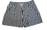 Woxers - Waterproof Adult Boxer Shorts (Navy stripes) Size Large