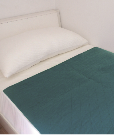 SuperCare Bed Pad with Tuck in - 1m x 1m - Dark Blue