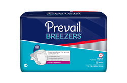 Prevail® Breezers ­Adult Briefs - PVB 013 Size Large Pack of 18s