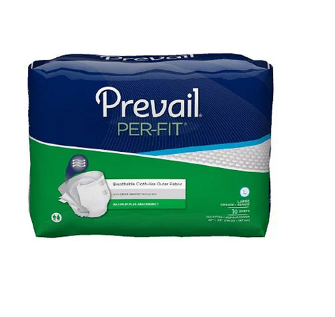 Prevail Per-Fit Adult Brief, Large Pack of 10 pcs (PF-013)
