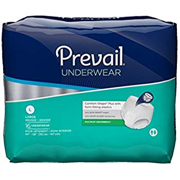 Prevail® Maximum Protective Underwear - PVS 513 -Size Large - Pack of 16s