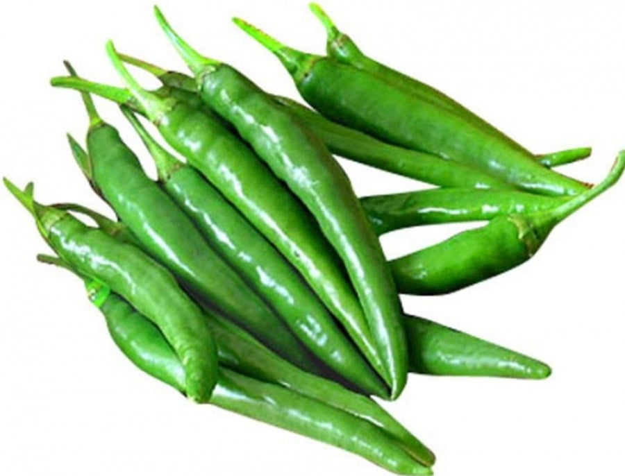 Pachai milagai / green chilly 250 gm