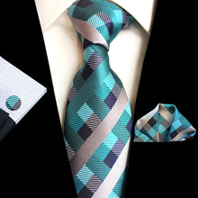 Load image into Gallery viewer, NT118 Erizman London Necktie Set