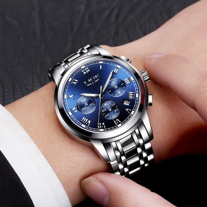 LR005 Cristen Lige Quartz Chronograph Watch