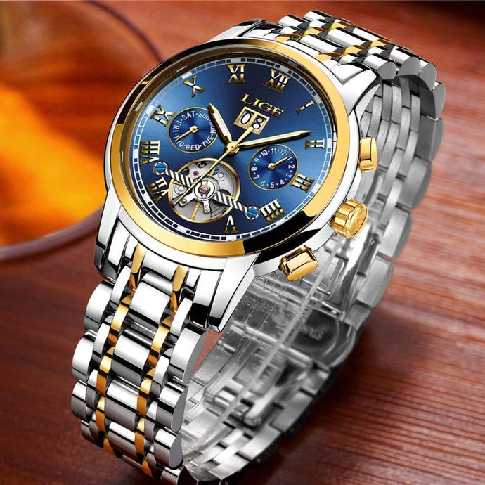 LR042 Original Cristen Lige Automatic Executive Watch