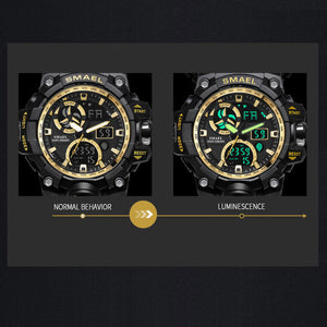 SM003 Anti-shock Military Watch for Men