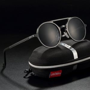 EL046 Erizman London UV Polarized Sunglass