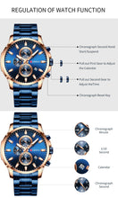 Load image into Gallery viewer, CR011 Mitsu Curren Men's Business Wristwatch