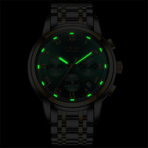 LR037 Cristen Lige Quartz Chronograph Watch