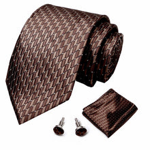 Load image into Gallery viewer, NT045 Erizman London Necktie Set