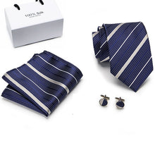 Load image into Gallery viewer, NT070 Erizman London Necktie Set
