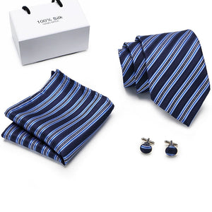 NT064 Erizman London Necktie Set