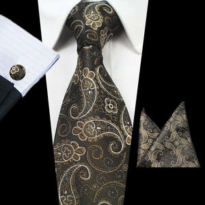 NT112 Erizman London Necktie Set