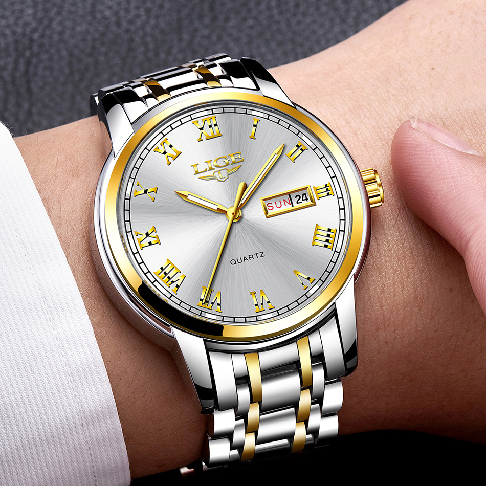 LR001 Cristen Lige Classic Quartz Watch