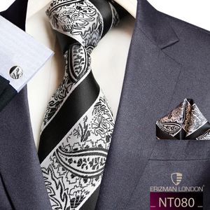 NT080 Erizman London Necktie Set