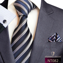 Load image into Gallery viewer, NT082 Erizman London Necktie Set