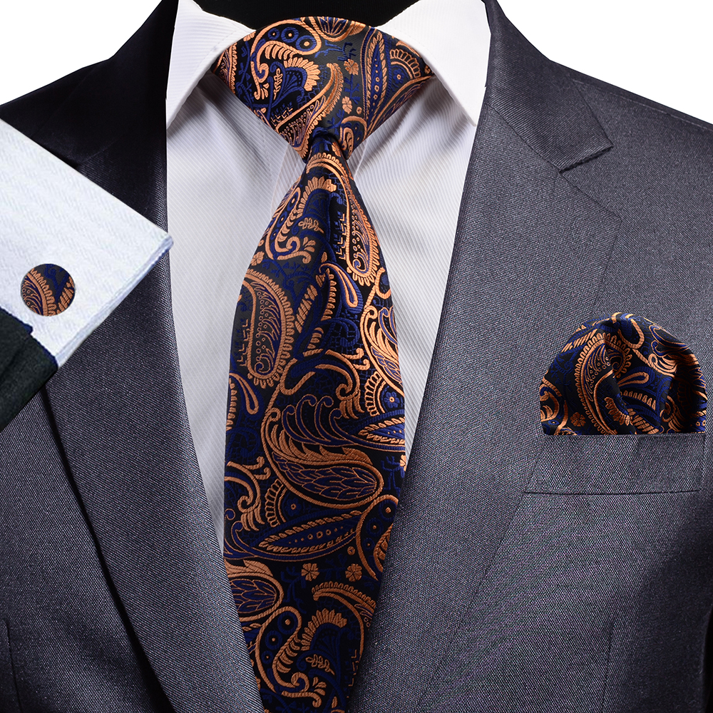 NT085 Erizman London Necktie Set