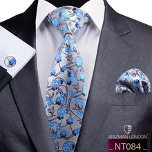 Load image into Gallery viewer, NT084 Erizman London Necktie Set