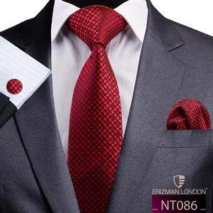 NT083 Erizman London Necktie Set