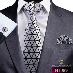 NT089 Erizman London Necktie Set