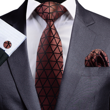 Load image into Gallery viewer, NT085 Erizman London Necktie Set