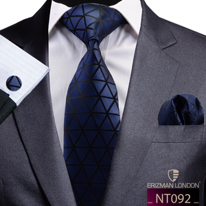 NT092 Erizman London Necktie Set