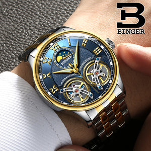 BR009 Rodolfe Binger Luxury Automatic Watch