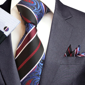 NT071 Erizman London Necktie Set