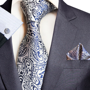 NT078 Erizman London Necktie Set