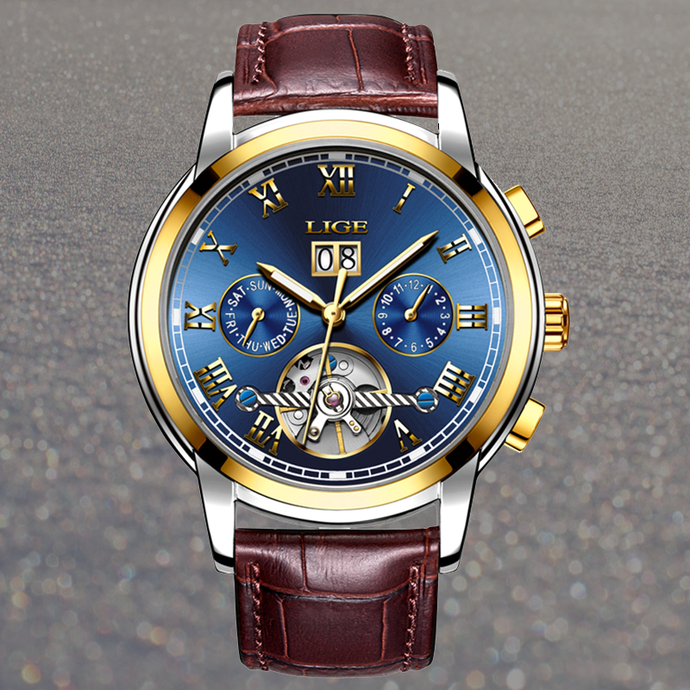 LR049 Cristen Lige Luxury Automatic Watch