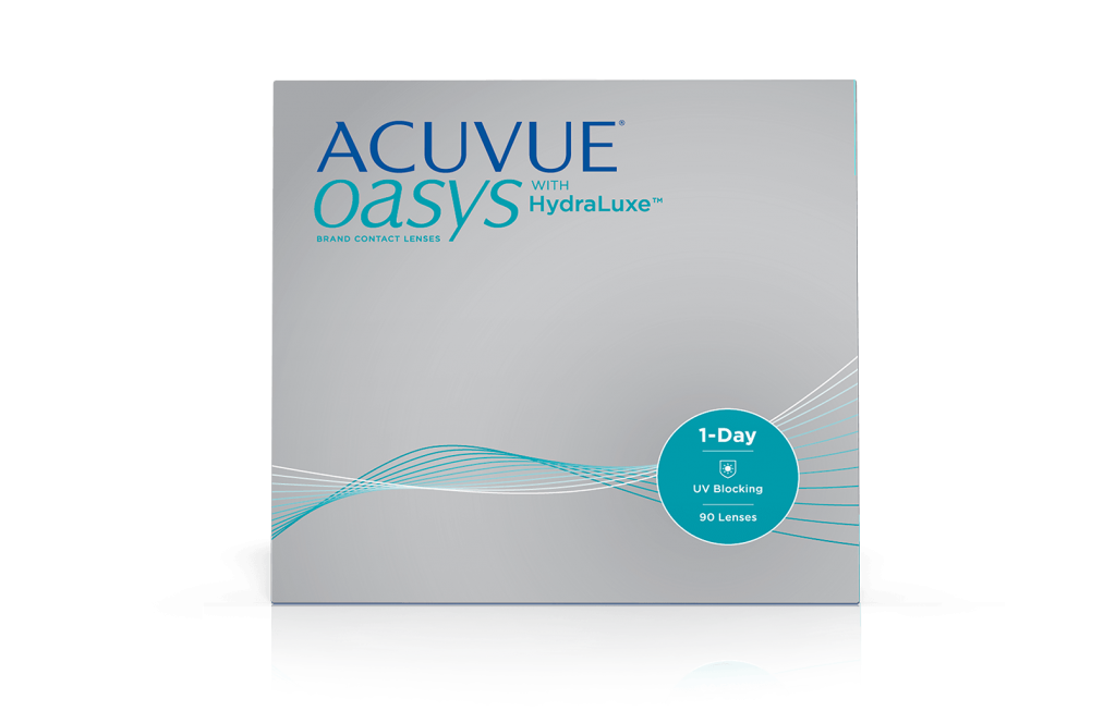 ACUVUE OASYS 1-DAY with HydraLuxe Technology (90 Pack)