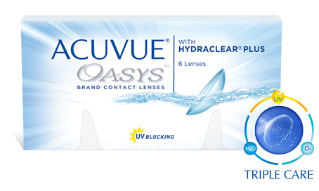 ACUVUE Oasys with Hydraclear PLUS (6 Pack)