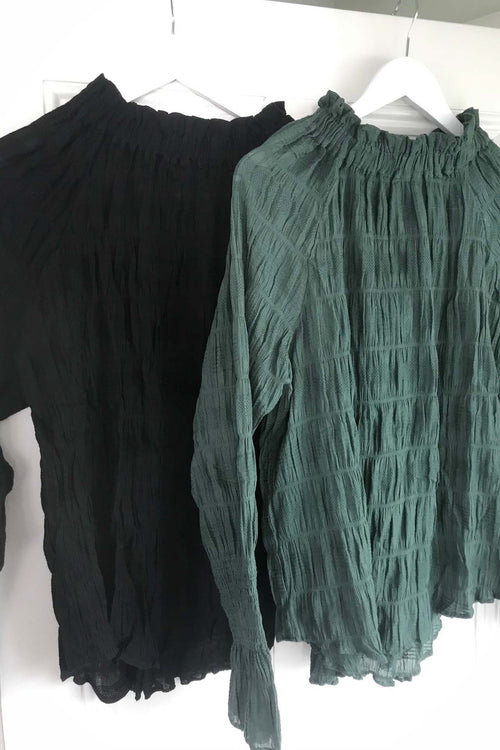 Valencia Blouse - Limited Edition Forest Green