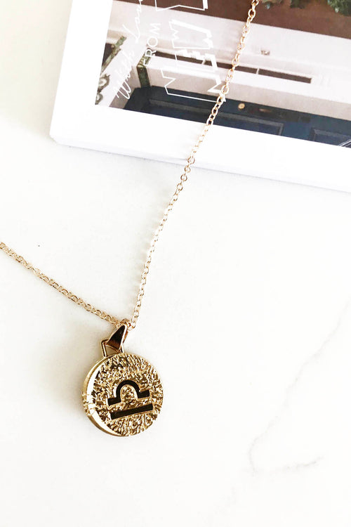 Starsign Necklace - Libra