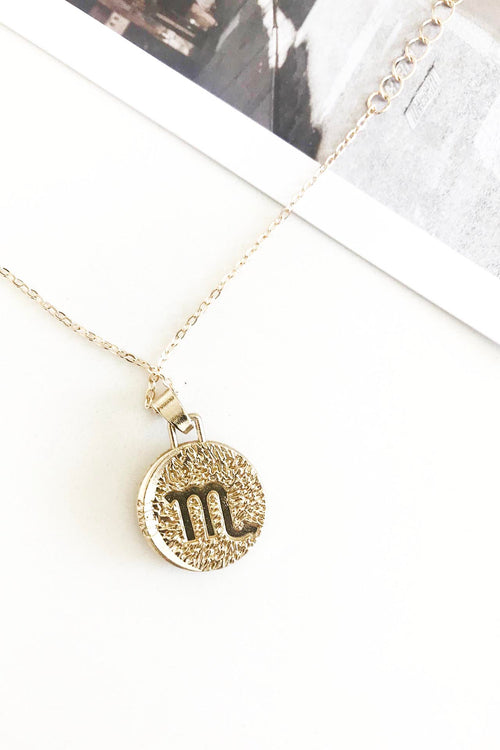 Starsign Necklace - Scorpio