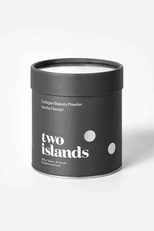Two Islands Collagen Beauty Powder Vanilla