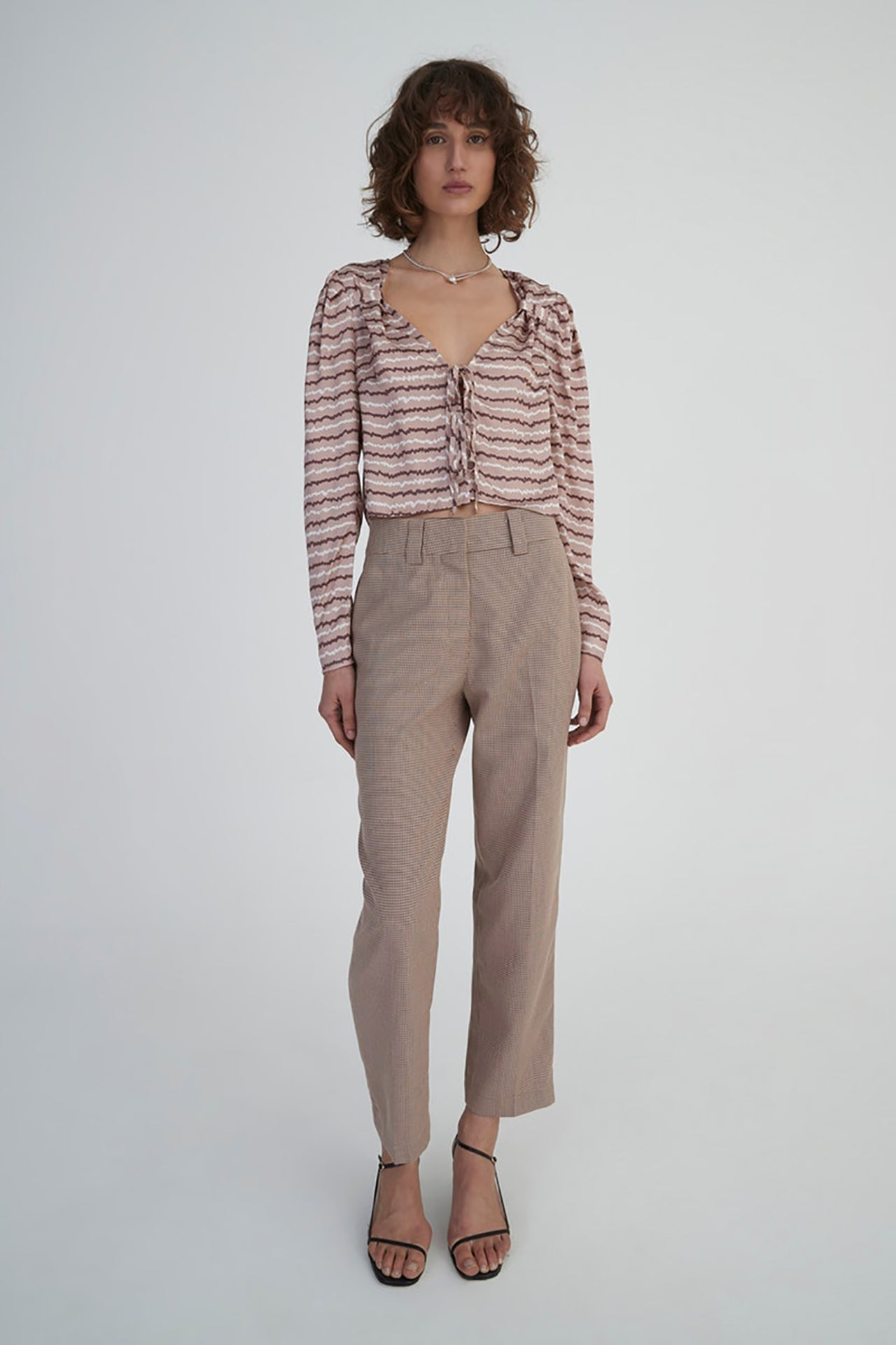 Shelley Pants Houndstooth