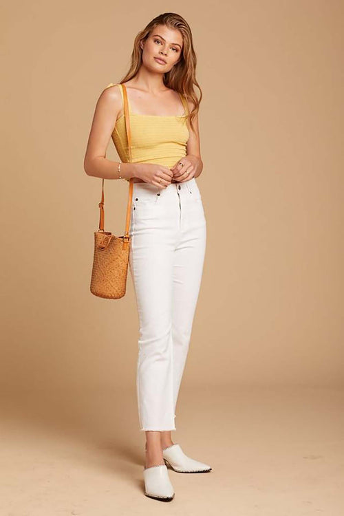 La Vida Denim Pant Cream