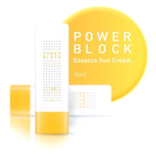 A'PIEU Power Block Essence Sun Cream SPF50+ PA++++